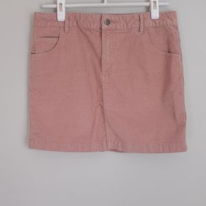 Bundle Only - BDG Pink Corduroy Skirt